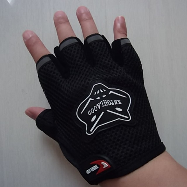 Weight Lifting Gloves Workout Body Building Fitness Gym Gloves Anti Slip Bar Grips Power Training Exercise