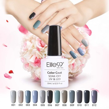 Elite99 2016 New Nail Polish Soak Off Nail Gel Bling Long Lasting UV Lamp LED Cosmetic Art Tools Manicure Nail Polish Gel Color