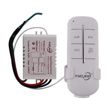 1 Channel Way ON / OFF numérique 220 V sans fil lumière Garage mur nouveau commutateur Splitter Box Durable à distance(China (Mainland))