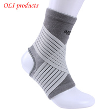 Sports equipment nylon spandex elastic pressure ankle support brace pads ankle protector  free shipping #ST6616(China (Mainland))
