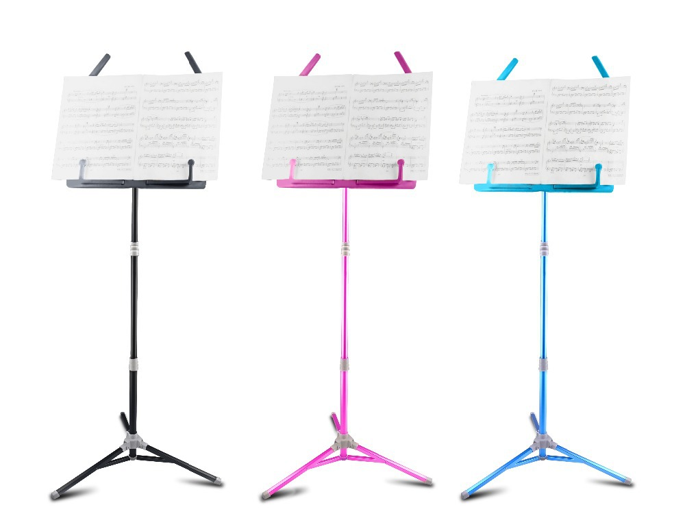 Aluminium Alloy Foldable Small Music Stand for Guitar Bass Violin Piano Flanger FL-05 free shipping(China (Mainland))