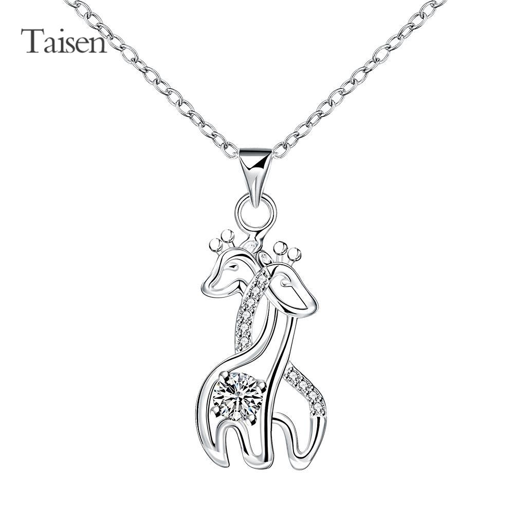 women's T-shirt dress charms giraffe fashion pendant women High Quality New Style Fashion Jewelry Silver Plating Necklace(China (Mainland))