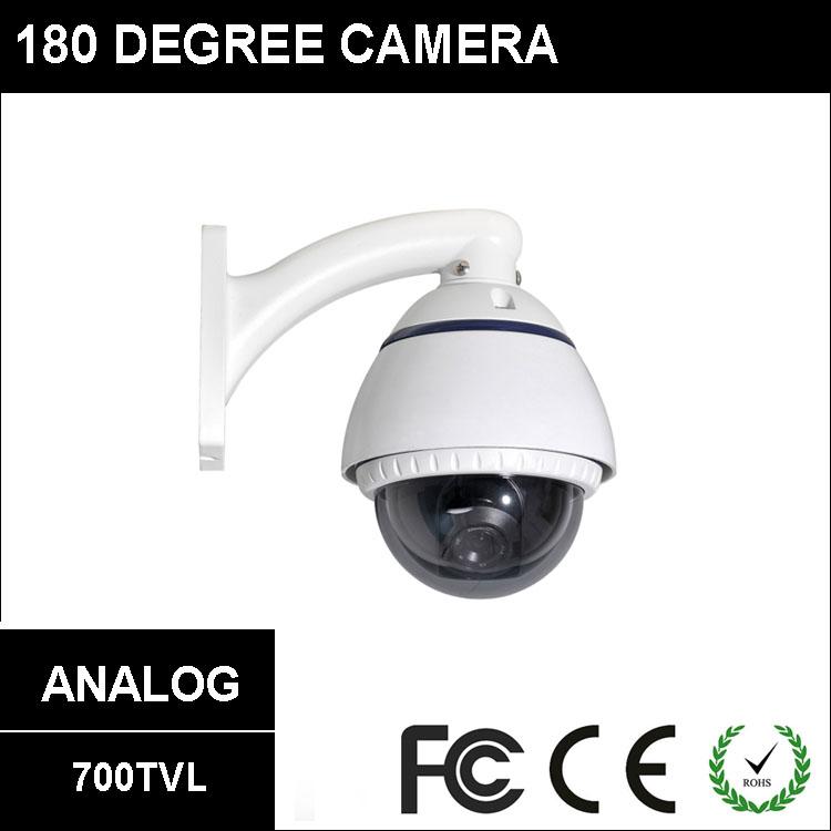 [#2408] 700TVL Sony CCD Vandalproof Ball Fisheye Wide Angle Outdoor Weatherproof 180 Degree Camera(China (Mainland))