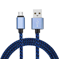 2A Fast Charge Nylon Braided Micro USB Cable for Samsung Galaxy HTC SONY Lenovo xiaomi LG