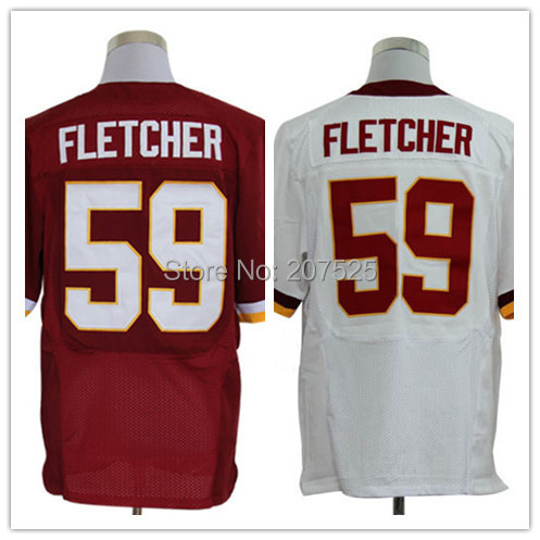 59 Washington , Washington Fletcher Elite Jersey hedonism fletcher