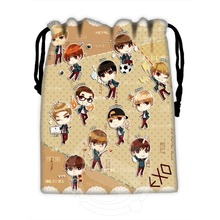 Fashion Classic Custom EXO #7 drawstring bags for mobile phone tablet PC packaging Gift Bags18X22cm SQ00729-@H0610(China (Mainland))