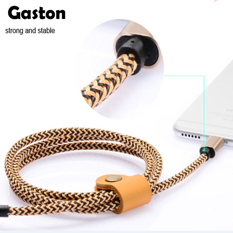 100pcs/lot 1M 3ft USB Cable For iphone 6 6s USB Cable Nylon Braided Data Charging Power Cord for APPLE iPad Pro Air mini(China (Mainland))