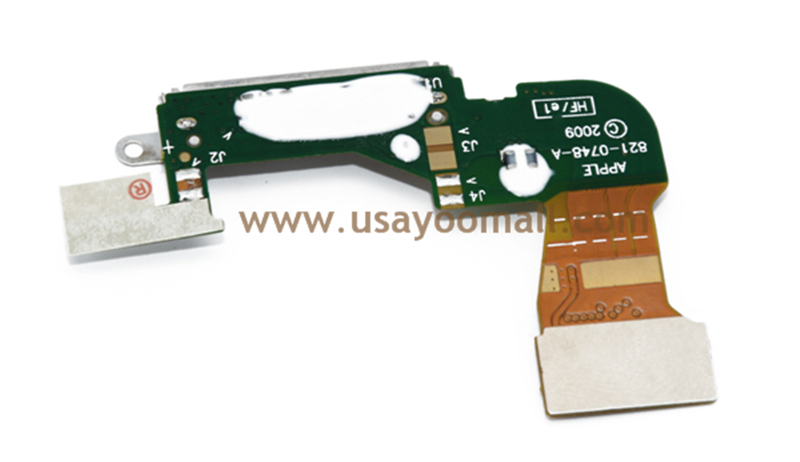 New Dock Connector Charging Port Flex Cable Replacement for iPhone 3G free shipping(China (Mainland))