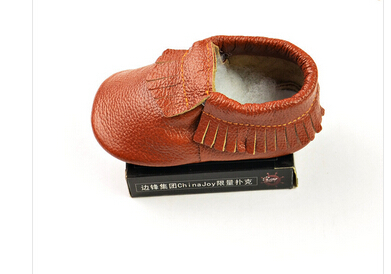 1 pair -sale baby Moccasins Soft Moccs Baby Shoes Newborn Baby firstwalker Anti-slip Genuine Cow Leather BAB l-b 211(China (Mainland))