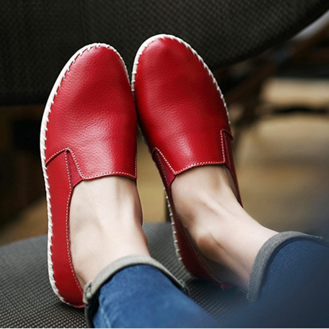 They produce all the leather used in making Ecco shoes, taking measures to protect the environment at the same time. Their sole aim is to make a comfortable walking shoe.