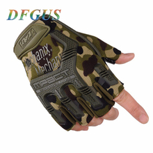 Buy Military Tactical Gloves Outdoor Army Black Half Finger Gloves Slip Resistant Gloves Climbing Gym Workout Gloves & Mittens for $4.74 in AliExpress store