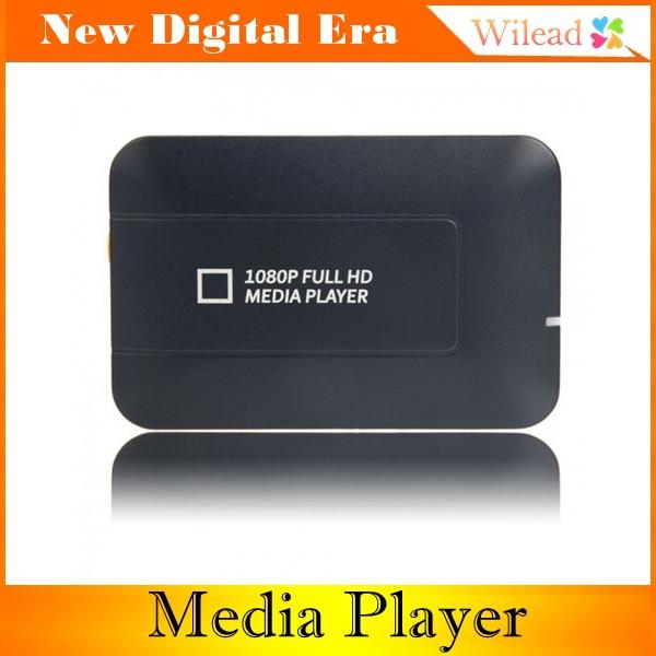Newest 1080P Media Player Center MultiMedia Video Player with HDMI VGA AV USB SD/MMC Port HDMI Media Player(China (Mainland))