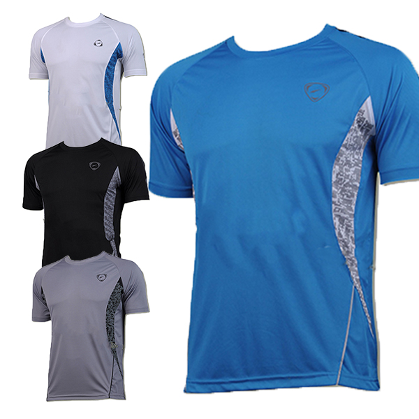 Hot Sale 2015 New Short Sleeve Men t shirt Mens Tee Dry Quickly Casual T-Shirts Slim Fit Tops New Sport Bodybuilding Shirt(China (Mainland))
