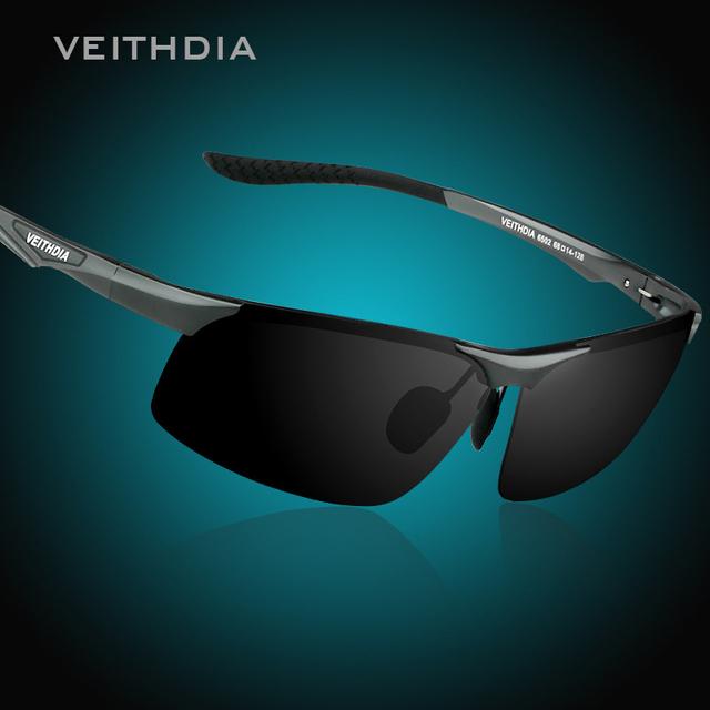 Veithdia магнийалюминиевый поляризованные UV400 очки для вождения автомобиля спортивные ...