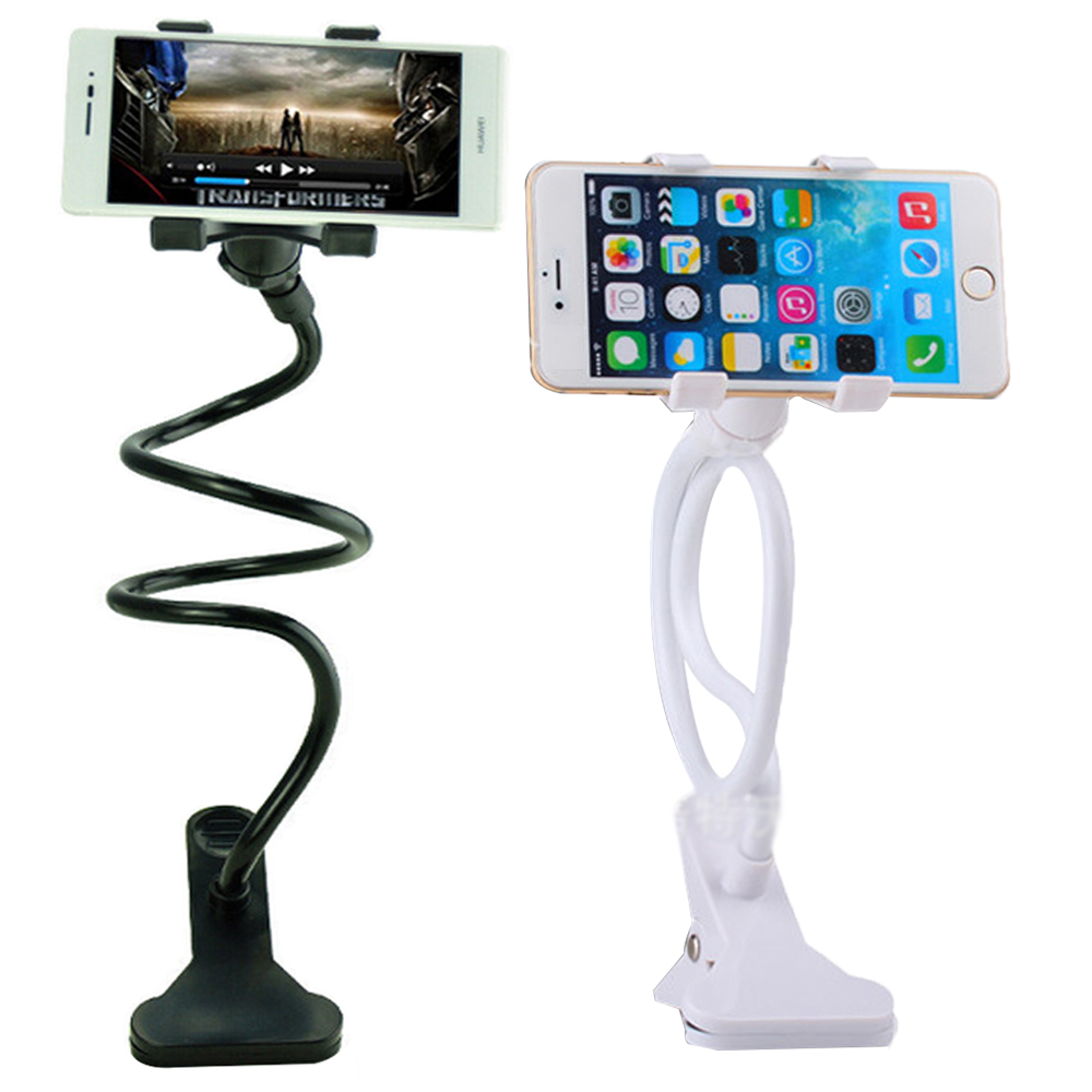 Portable Universal Car Phone Holder in Car for Your Cell Phone Stand Mobile Phones Telephone Bedside Clip Clamp for Lazy People(China (Mainland))
