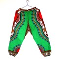 New Design African Traditional Print 100 Cotton Dashiki Pants Ankle Length Pant For Unisex