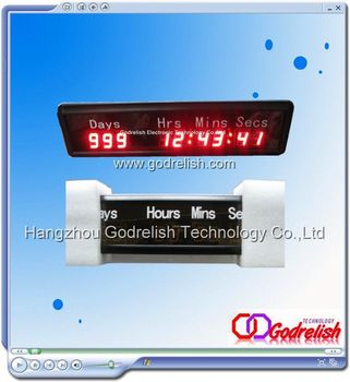 Sell indoor led countdown clock