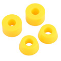 4pcs 55D Outdoor Sports Hard PU Bushings Wheels Bearing Bushed Spacers Shockproof For Skateboard Parts Outdoor