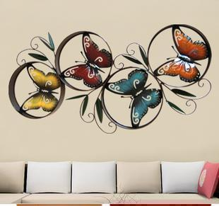 butterfly wall decor. Black Bedroom Furniture Sets. Home Design Ideas
