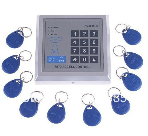rfid proximity entry door lock access control system user manual