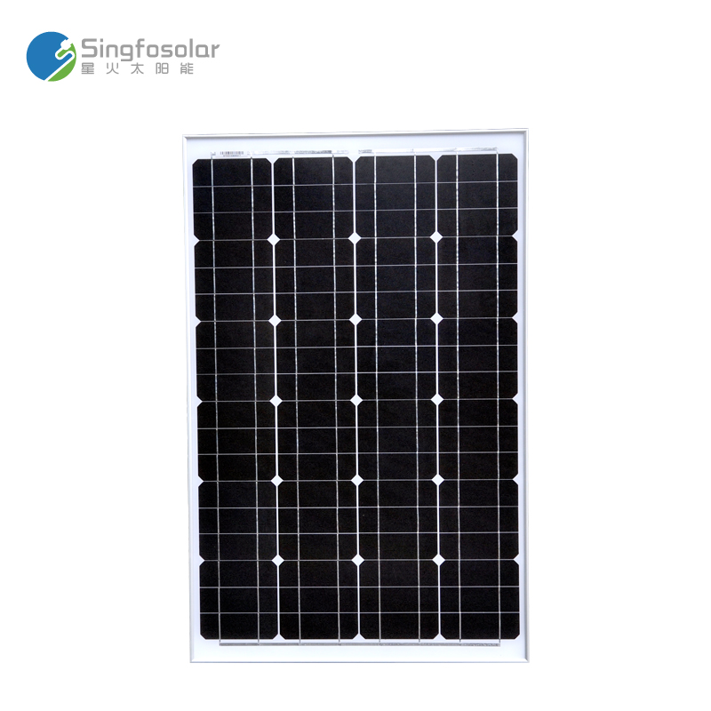 New Monocrystalline Solar Panel 60 W For 12 V Battery Charging Cell Photovoltaic Solar Panels Modules A Grade(China (Mainland))