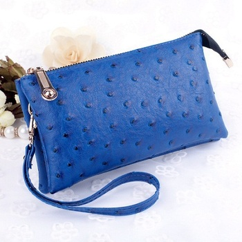 Women's PU Leather Wristlet