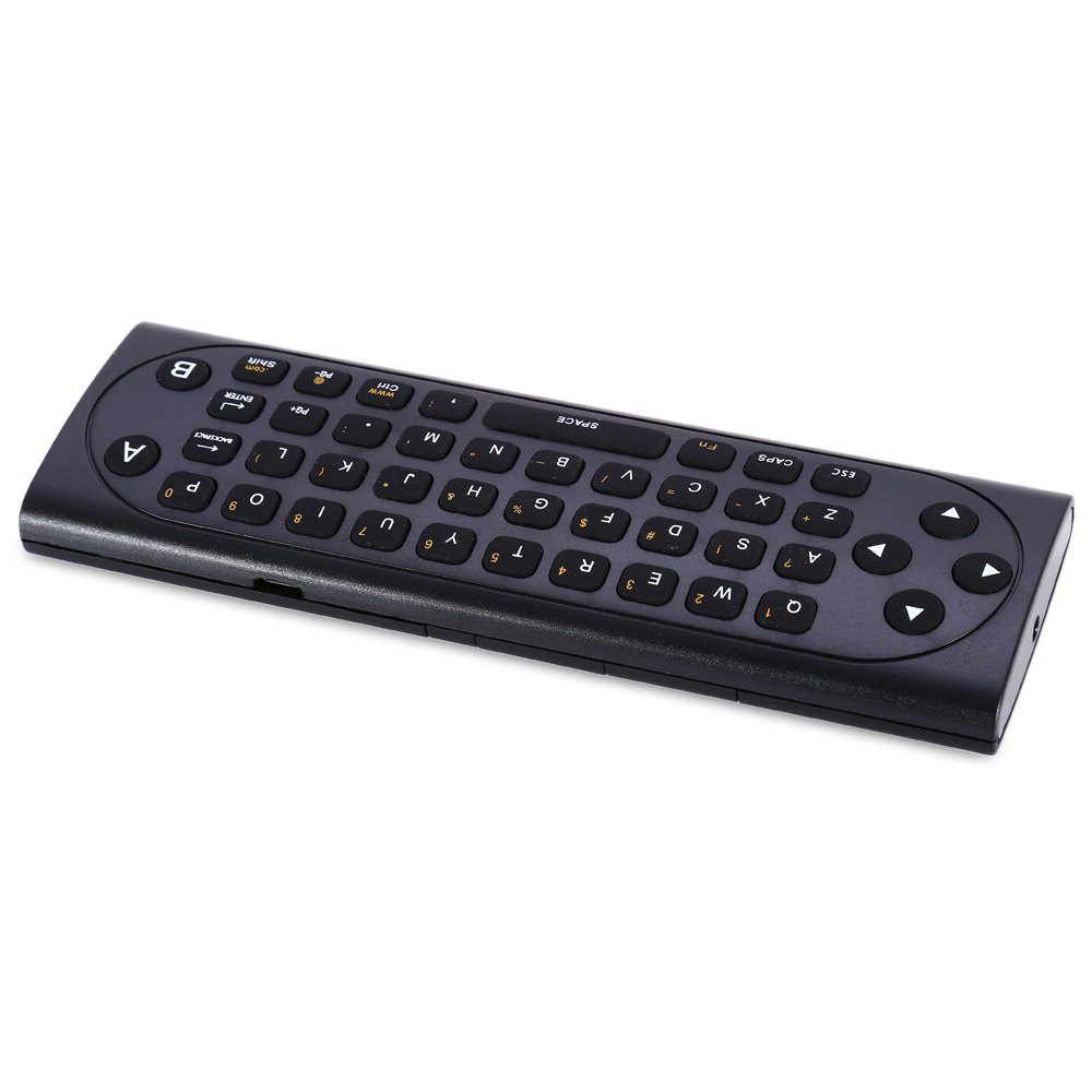 Keyboards TZ MX9 - M 2.4Ghz Wireless Mini Rechargeable Keyboard Air Mouse Remote Control with IR Learning Mode For PC TV(China (Mainland))