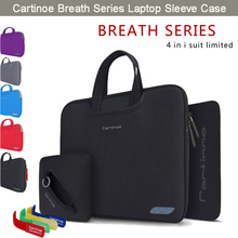 Cartinoe Breathable Laptop Sleeve Carrying Case Cover Bag HandBag Briefcase for Apple Macbook Air 11 12 inch/ 13 15 Pro Retina