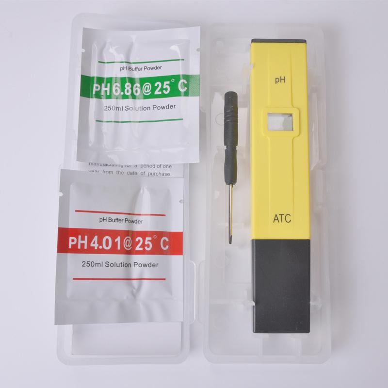 PH test pen, home tap water pH value detection pen, swimming pool aquarium pH meter, free shipping(China (Mainland))
