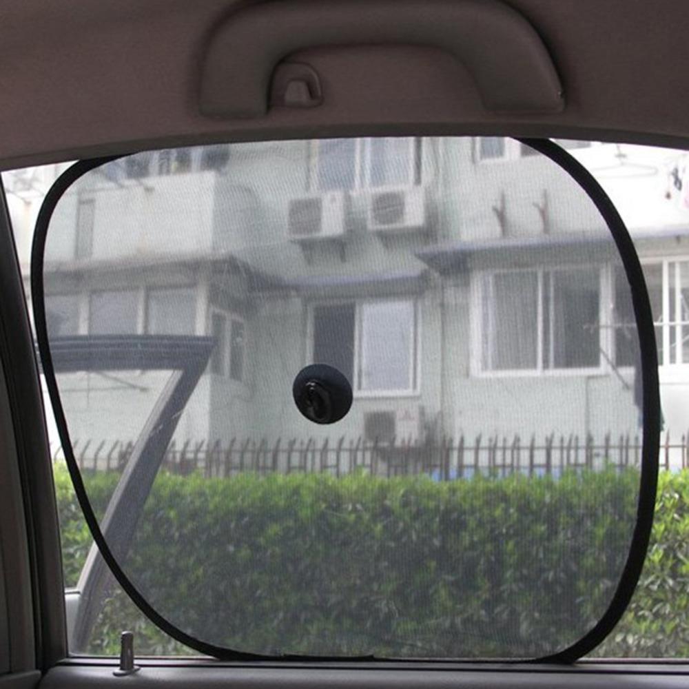 [해외]접이식 자동차 사이드 윈도우 양산 태양 그늘 블록 화면 메쉬..