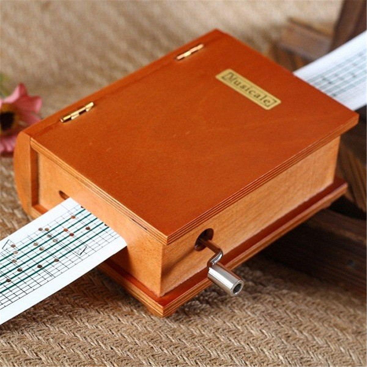 Музыкальная шкатулка  из бумаги