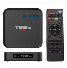 Buy Original T95M TV Box Amlogic S905X Quad Core 64Bit Android 6.0 4K HD Media Player Set Top Box 1GB/2GB 8GB 2.4GHz WiFi BT 4.0 for $35.14 in AliExpress store