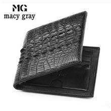 macygraymg 2016 hot sale alligator wallets men leisure real crocodile wallet brief more screens business travelers male wallet