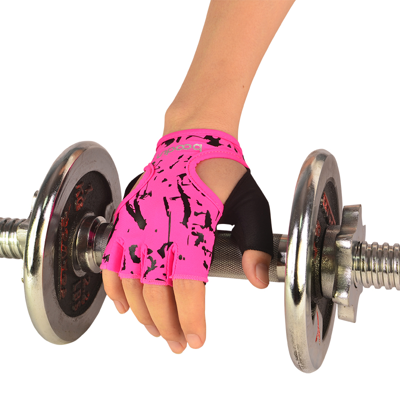 Women Work Out Gloves Weight Lifting Gym Sport Exercise: Women Gym Body Building Weight Lifting Training Fitness