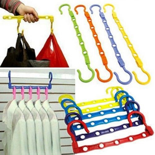 Multi-functional Clothes Hanger Hanging Device Closet Space Saver(China (Mainland))
