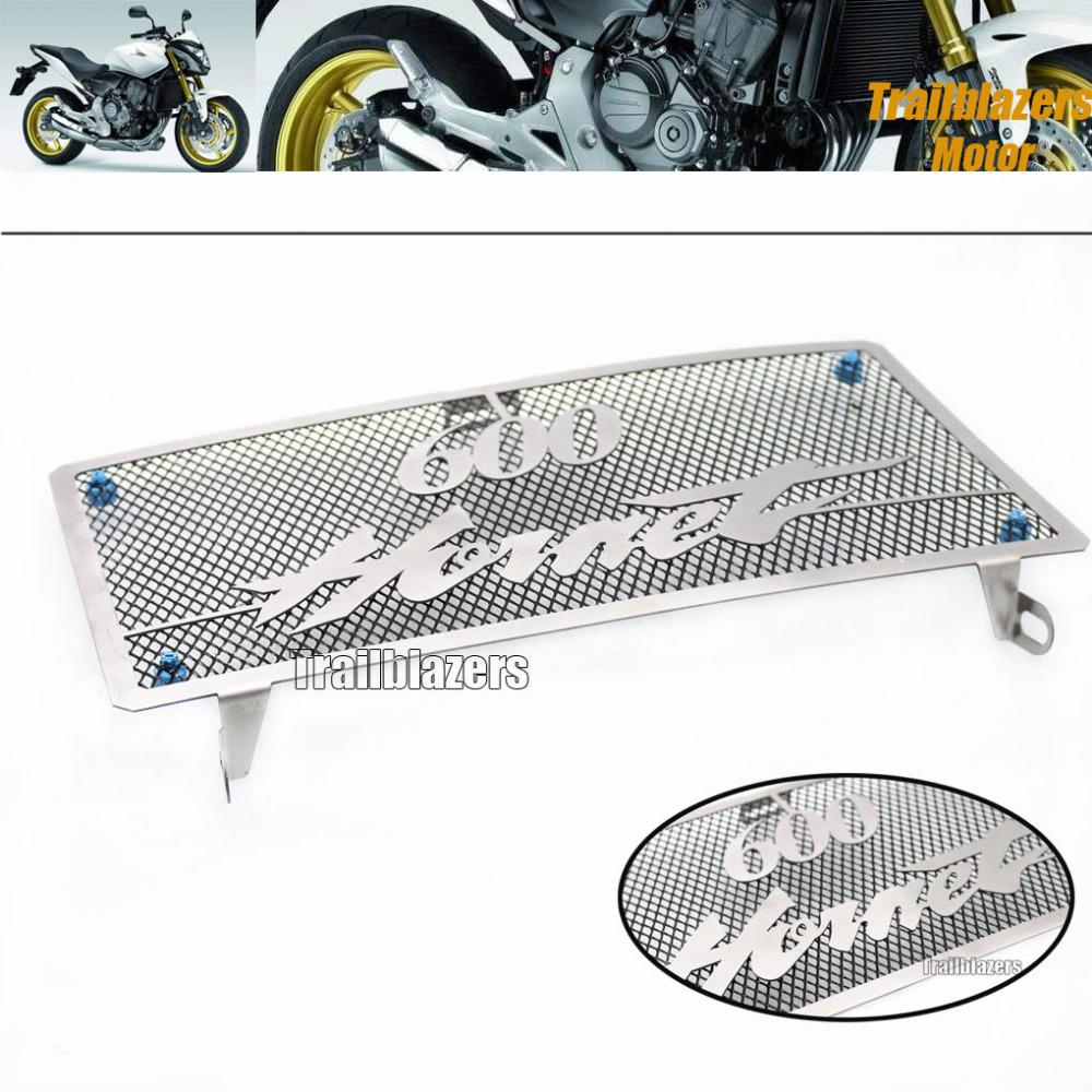 Бесплатная доставка мотоциклов решетка радиатора защитный кожух топливного бака защитная сетка для HONDA шершень 600 / CB600 2003 - 2006