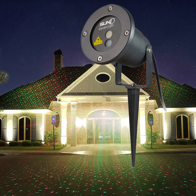 Christmas Outdoor Rg Laser Light Show Projector Waterproof