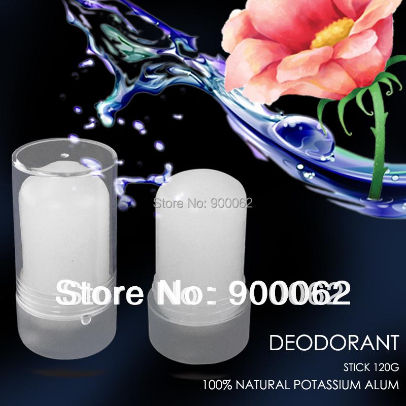 120G Deodorant Stick Alum Stick Body Underarm Deodorant Natural Crystal deodorant(China (Mainland))