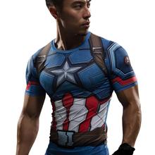 T Shirt Captain America Civil War Tee 3D Printed T-shirts Men Marvel Avengers 3 iron man Fitness Gym Clothing Male Crossfit Tops