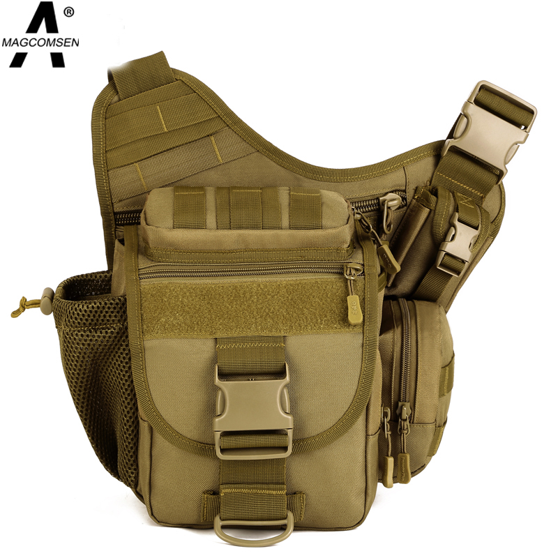 30*30*16 cm Hiking Men MilitaryTactical Bag Saddle Bag Shoulder Messenger Bag Utility Waist Pack for Outdoor Sports AG-BJDN-012(China (Mainland))