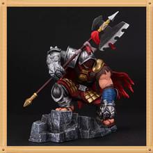 New LOL Jax grandmaster at arms action figure jax doll pvc acgn figure garage kit toys brinquedos anime model toy