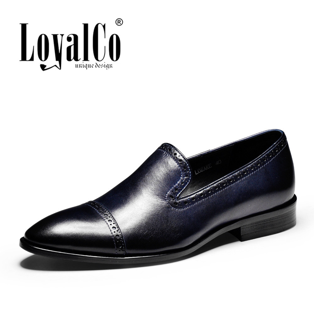 loyalco s fashion oxfords shoes brogue business formal