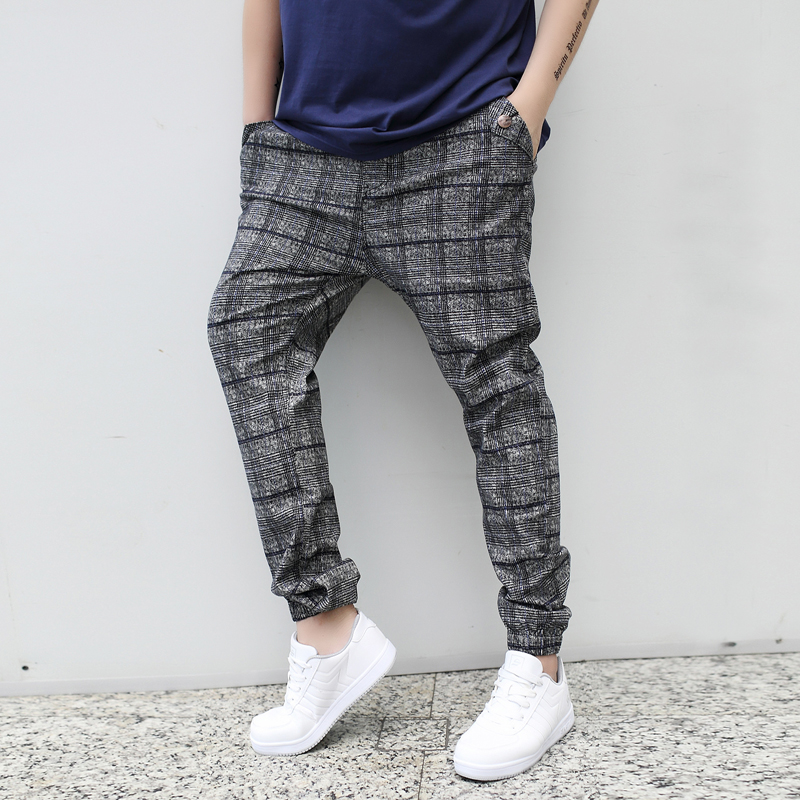 fashion 2015 new arrive casual spring summer  men pant  plaid plus size plus size men harem pantsОдежда и ак�е��уары<br><br><br>Aliexpress