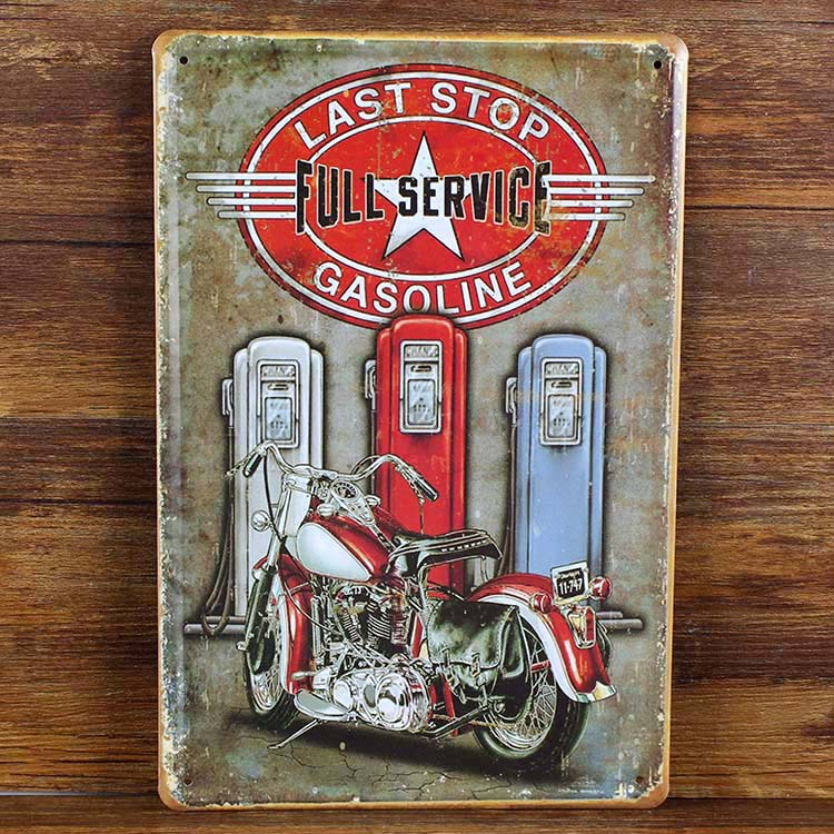 New 2015 about american motorcycle tin signs retro for Plaque deco cuisine retro