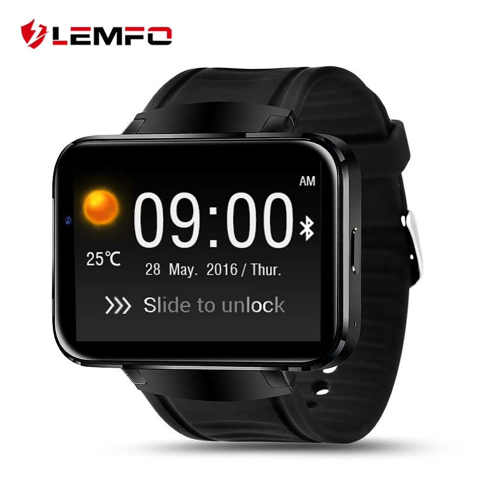 Surprise ! LEMFO LEM4 Android OS Smart Watch phone support GPS SIM card MP3 bluetooth WIFI smartwatch for apple ios android os(China (Mainland))