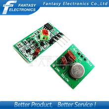 1Lot= 5 pair (10pcs) 433Mhz RF transmitter receiver Module link kit Arduino/ARM/MCU WL diy 433mhz wireless free shiping