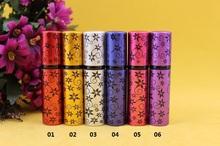 Buy 100pcs 5ml 0094 empty Hexagonal flower electrochemical aluminum spray bottle/glass tank/perfume bottles Sample subpackage tube for $96.51 in AliExpress store