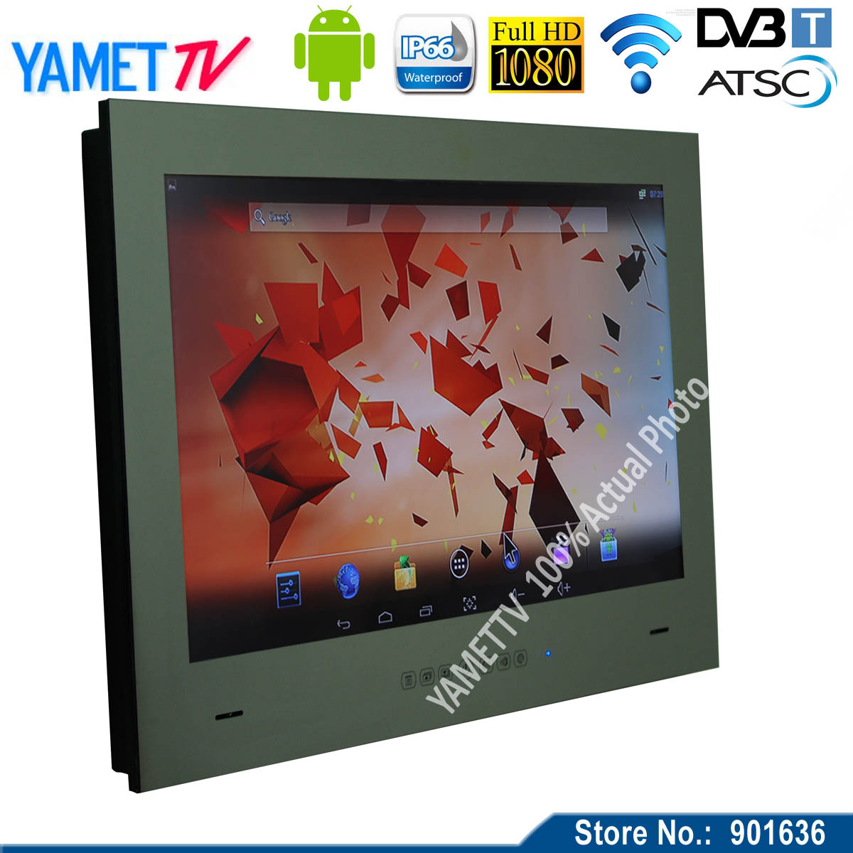 32 inch Yamet Mirror Android smart TV Mirror Television Hotel TV WIFI full-HD 1080P HDMI(China (Mainland))