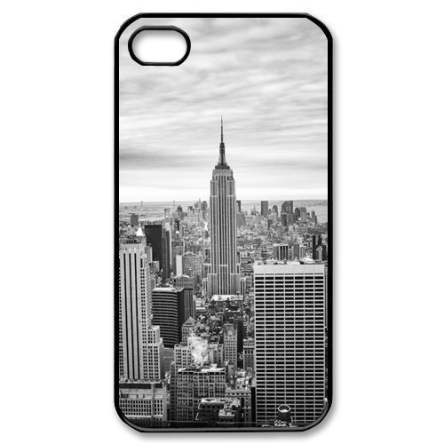 "New York City View Sky Landscape Newest Skin Design Custom Plastic Hard Case Cover for Apple iPhone 6 Plus 5.5""(China (Mainland))"