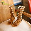 J Ghee 2017 Fashion Girls Summer Sandals Roman Shoes For Girls 3 9 Years Kids Gladiator